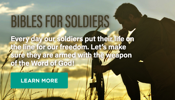 Bibles for Soldiers